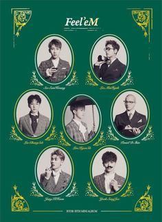 "BTOB 10th Mini Album ""Feel'eM"" K-POP CD + 80p Photobook + 1p Photocard + Poster #Pop"