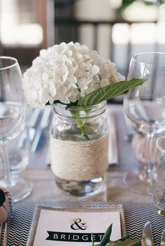 A perfectly white hydrangea