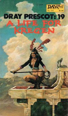 335 Alan Burt Akers A Life for Kregen Richard Hescox Apr-79 a.k.a. Kenneth Bulmer. Dray Prescott #19