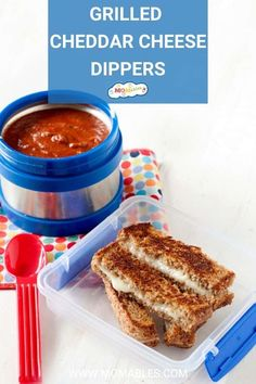 Healthy Toddler Lunches, Healthy School Lunches, Grilled Sandwich, Grilled Veggies, Melted Cheese, Meals For The Week, Easy Dinner Recipes, Soup, Classic