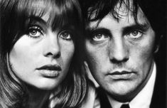 Jean Shrimpton and Terence Stamp by Terry O'neill, 1963