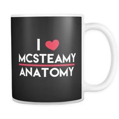 Still crazy for McSteamy? This Grey's Anatomy mug is for you!