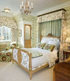 English Style Bedroom Traditional French Country