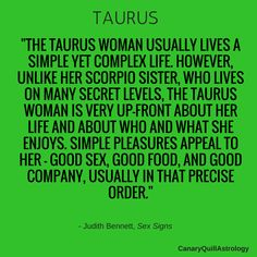 TAURUS — Canary Quill Astrology