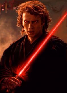 Loved this edited shot of Anakin in revenge of the sith!