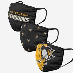 A Team, Team Logo, Pittsburgh Penguins Logo, Fan Gear, Black N Yellow, Colour Black, Nhl, Screen Printing, Cover Up