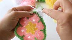 Crochet: African Flower Hexagon Tutorial