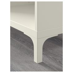 IKEA - NANNARP, Leg, white, NANNARP legs raise your BESTÅ combination from the floor, giving a light airy look and making it easy to clean the floor underneath. wide frames need 4 legs. TV benches and wide frames need 4 legs and one BESTÅ supporting leg. Tv Bank, Soft Closing Hinges, Ikea Closet, Frame Shelf, Patio Chair Cushions, Ikea Home, Rental Decorating, Ikea Furniture, Tv Consoles