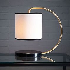 49 Unique Glass Table Lamp Design Ideas For Your Bedroom