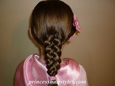 5 strand braid by PrincessHairstyles.coom