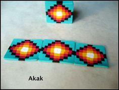 Les bijoux d'akak. Extruded pattern