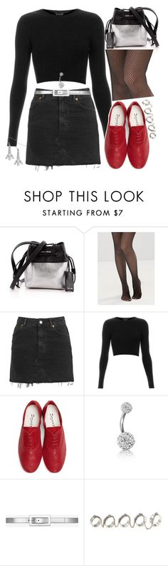 """""""Untitled #224"""" by purplerox24 ❤ liked on Polyvore featuring Miu Miu, Leg Avenue, Topshop, Repetto, Bling Jewelry, Yves Saint Laurent, Eddie Borgo, Betsey Johnson and modern"""