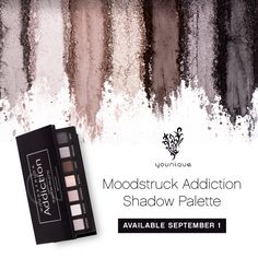 Younique Moodstruck Addiction Shadow Palette - Available September 1st! #eyeshadow# makeup#eyes
