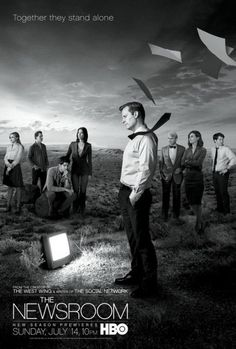 """The Newsroom is an American drama television series created and primarily written by Aaron Sorkin. The series chronicles the behind-the-scenes events at the fictional Atlantis Cable News (ACN) channel. It features an ensemble cast including Jeff Daniels as anchor Will McAvoy, who, together with his staff set out to put on a news show """"in the face of corporate and commercial obstacles and their own personal entanglements."""""""