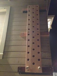 How to Build a Climbing Peg Board