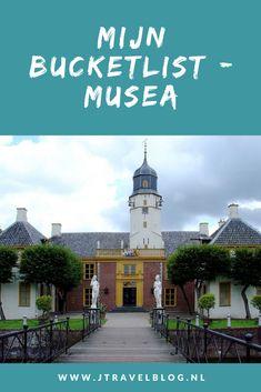 Ik heb net als een bucketlist van bestemmingen in de wereld en in Nederland ook een bucketlist met musea in Nederland (zoals de Fraeylemaborg in Slochteren) die ik nog graag zou willen zien op een rijtje gezet. Hoe mijn bucketlijst met musea is uit ziet, lees je in deze blog. Lees je mee? #bucketlist #museum #museumkaart #nederland #jtravel #jtravelblog