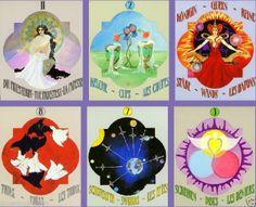 Rarität! NEU! Großes Tarot 1986 NEU! 9 x 11 cm 93 Tarotkarten mit Anleitung