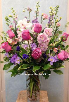 Flower Arrangement In Vase Pictures