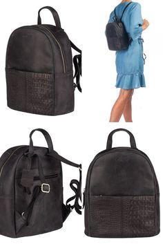 Burkely About Ally Backpack Black. Nu €69,95. Nog veel meer Burkely en andere merken leren tassen met hoge korting!!
