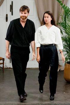 Sarah-Linh Tran and Christophe Lemaire -design dream team
