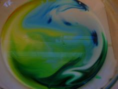 Have you ever tried magic milk painting? 3 simple ingredients (that you probably already have in your kitchen) will wow and amaze your little on as the color in the milk comes to life and starts swirling and moving on its own! #magicmilk #milkswirl