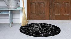 Spiderweb Doormat