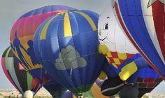 See the balloons and pilots work as a team at the Albuquerque International Balloon Fiesta! http://www.balloonfiesta.com/