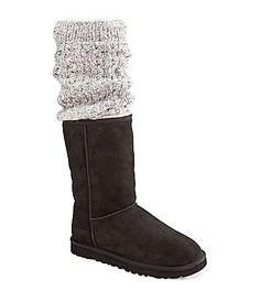 UGG Australia Womens Tularosa Route Detachable Boots #Dillards.... I want these sooo bad!