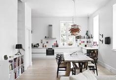 Klassisk køkken med et moderne twist | Bobedre.dk