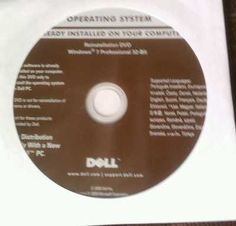 Windows 7 Professional Reinstall Disk For Sale On eBay.