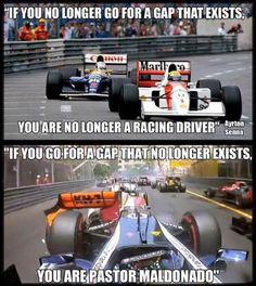 😂😂😂 Join our Fantasy League: . Car Jokes, Car Humor, Funny Jokes, Formula 1 Car Racing, Pastor Maldonado, Fantasy League, Valtteri Bottas, Red Bull Racing, F1 Drivers