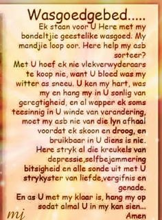 Afrikaans Prayer Verses, Bible Prayers, Bible Verses Quotes, Prayer Box, I Love You God, Afrikaanse Quotes, Bible Text, Spiritual Disciplines, Quotes About Motherhood