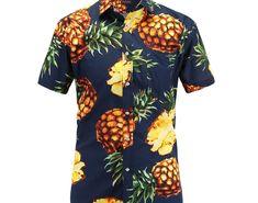 3949f630e Cheap Price 2018 Fashion Regular Fit Mens Cotton Short Sleeve Hawaiian Shirt  Summer Casual Floral Shirts