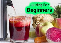 An awesome guide on juicing for beginners including juicers and preparation. A great guide to juicing for beginners, including juicer and preparation. Healthy Juices, Healthy Snacks, Healthy Nutrition, Juice Plus+, Fruit Juicer, Best Juicer, Lobster Recipes, Juicing Benefits, Juicing For Health