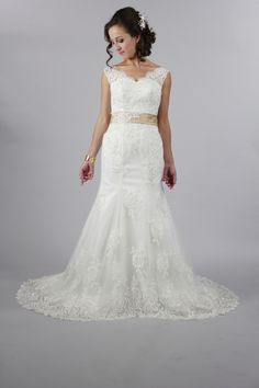 Handmade Elegant Sweetheart Open V Back White Lace Wedding Dress With Customize Color Sash Mermaid Style Wedding Dress. Handmade Elegant Sweetheart Open V Back White Lace Wedding Dress With Customize Color Sash Mermaid Style Wedding Dress on Tradesy Weddings (formerly Recycled Bride), the world's largest wedding marketplace. Price $349.00...Could You Get it For Less? Click Now to Find Out!
