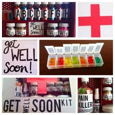 Get well soon kit.
