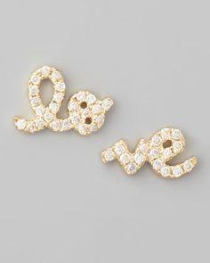 #Bergdorf Goodman         #love                     #Sydney #Evan #Yellow #Gold #Diamond #Love #Stud #Earrings                    Sydney Evan Yellow Gold Diamond Love Stud Earrings                            http://www.seapai.com/product.aspx?PID=329865