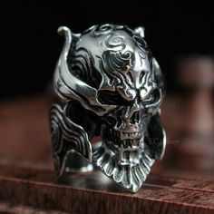 Men's Crusader Templar Knight Warrior Skull and Skeleton SS Armor Helmet Biker 316L Stainless Steel Ring Vintage Wholesale-in Rings from Jewelry on Aliexpress.com | Alibaba Group