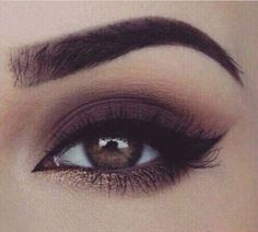 Brows and shadows.