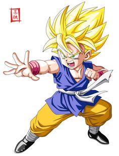 Super Saiyan kid Goku