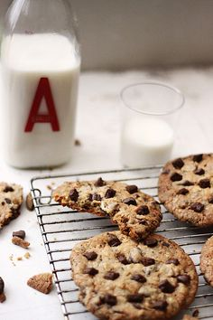 ... chocolate chip cookie ...
