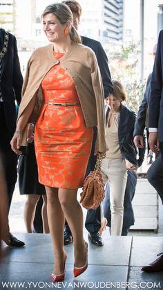 Koningin Máxima spreekt bij klimaatconferentie Adaptation Futures 2016