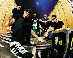 Limp Bizkit - makes you go up and down, up and down.