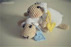 Malá ovečka so srdiečkom