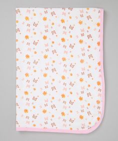 This Pink Butterfly Thermal Receiving Blanket is perfect! #zulilyfinds