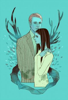 Hannibal and Abigail by mformadness on deviantART