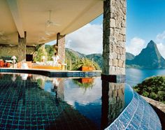 St Lucia Jade Mountain Resort - can you say dream honeymoon??
