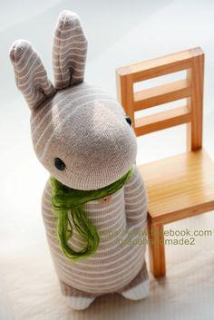 Grace--#244 Sock Domy Rabbit