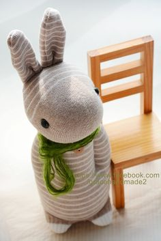 Grace--#244 Sock Domy Rabbit