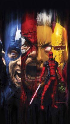 Deadpool Wallpaper, per anonymous request.